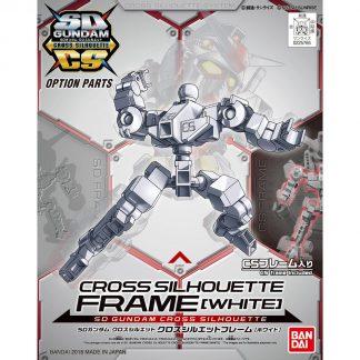 Cross Silhouette Frame White