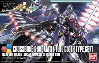 HG Crossbone Gundam X1 Full Cloth Type.GBFT