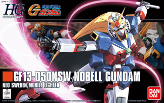 HG GF13-050NSW Nobell Gundam