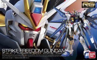 RG Strike Freedom Gundam