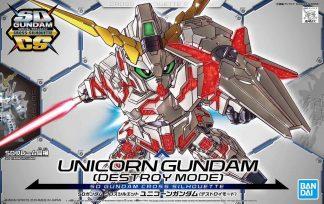SD Cross Silhouette Unicorn Gundam (Destroy mode)