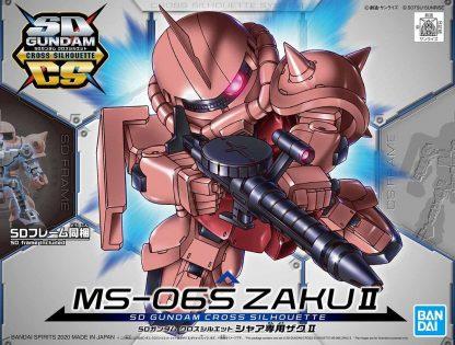SD Cross Silhouette MS-06S Zaku II