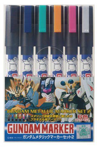 Gundam Marker GMS-125 Metallic set 2